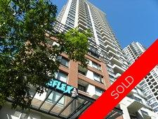 DOWNTOWN Condo for sale: Yaletown Park 3 1 bedroom 500 sq.ft. (Listed 2009-09-23)